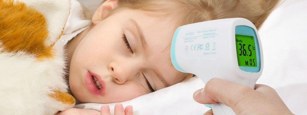 thermomètre frontal bébé