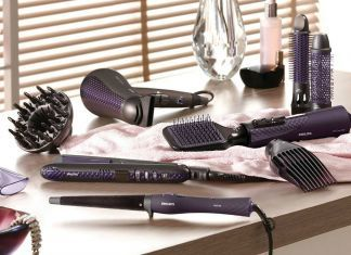 brosse coiffante