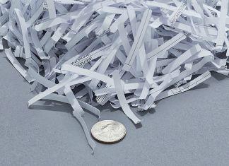 destructeur de papier