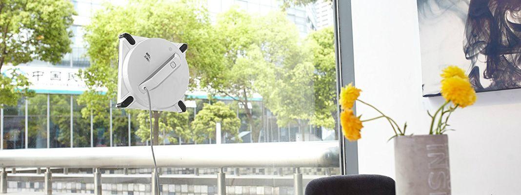 robot lave vitre